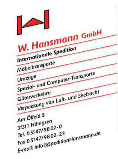 Hansmann Spedition